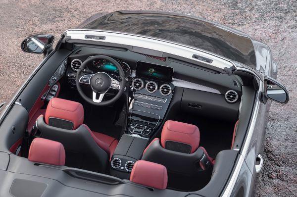 mercedes update f r c klasse coup und cabrio deine automeile im netz. Black Bedroom Furniture Sets. Home Design Ideas