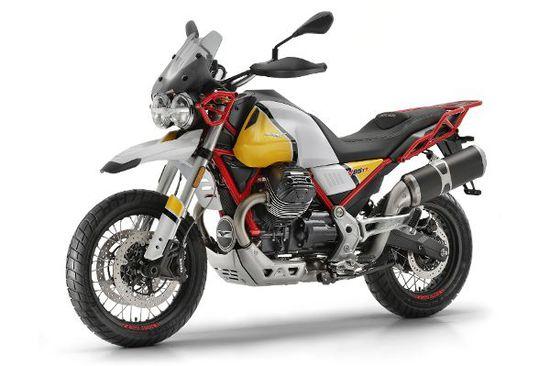 Motorrad - V85 TT: Gitter-Guzzi kurz vor dem Marktstart