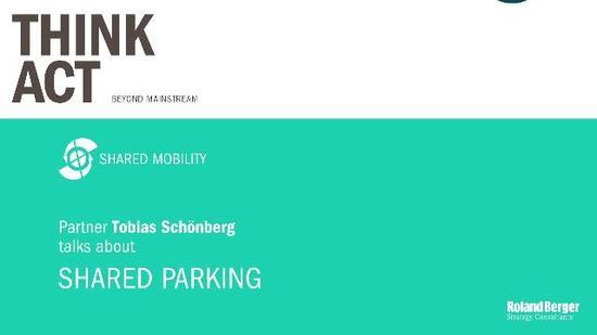 Lifestyle - Shared Parking: Weltweiter Markt wächst bis 2020 um ca. 25 Prozent jährlich