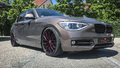 Felgen + Reifen - BMW 1er F20 auf Ultralight Project 3.0-Felgen mit Flash Colour-Finish