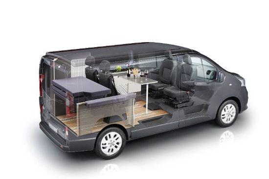 Auto - CMT-Premiere: Der Nissan NV300 Michelangelo