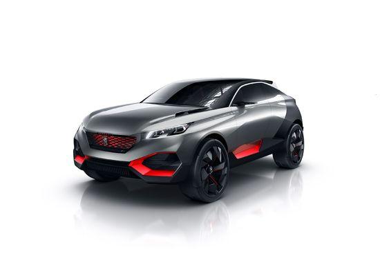 Luxus + Supersportwagen - Concept Car Peugeot Quartz - Crossover für ein außergewöhnliches Fahrerlebnis