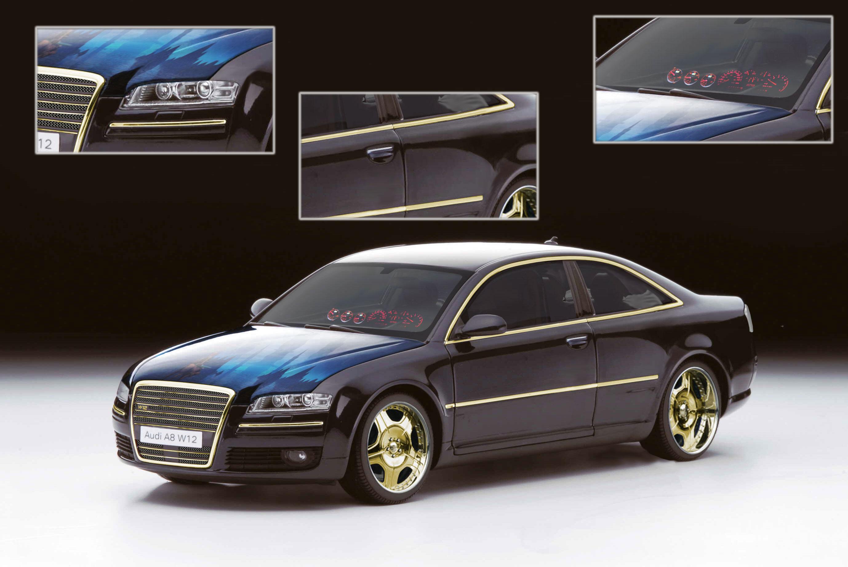 fake audi a8 w12 limo coupe deine automeile im netz. Black Bedroom Furniture Sets. Home Design Ideas