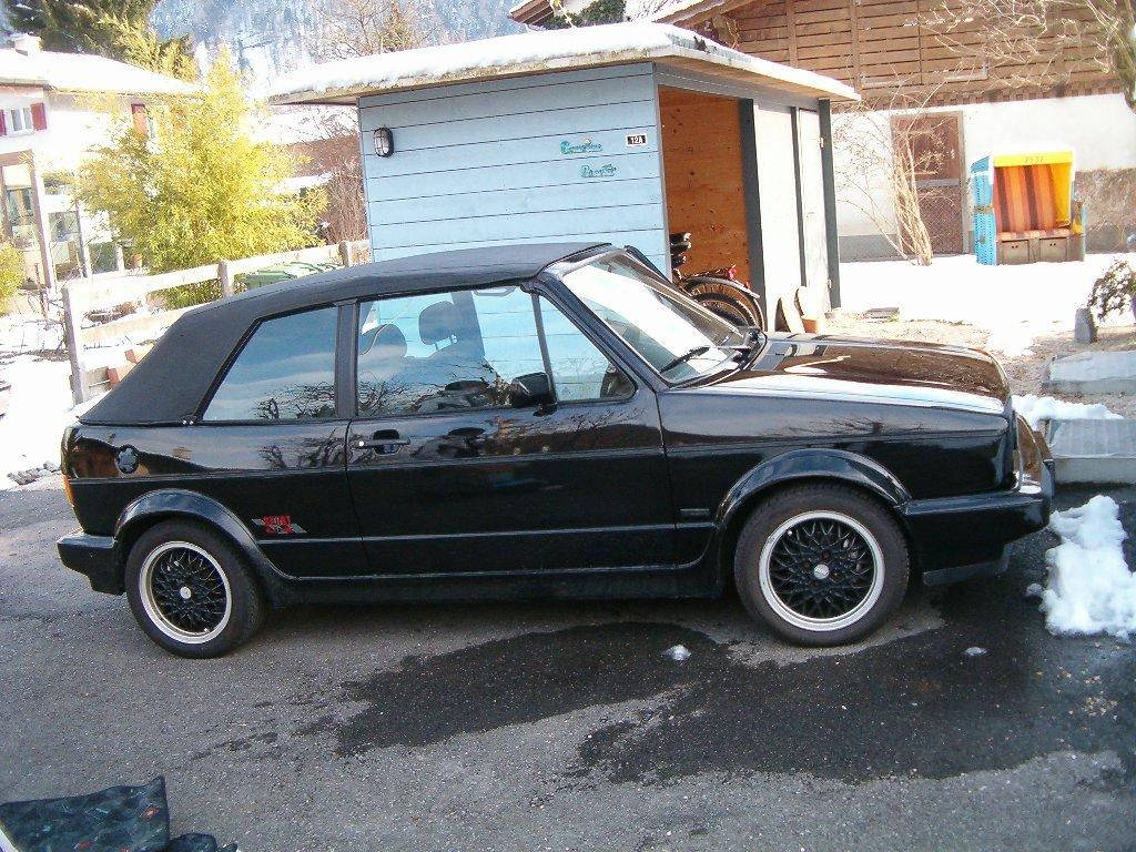 mein neuer golf 1 cabrio sportline seite 1. Black Bedroom Furniture Sets. Home Design Ideas