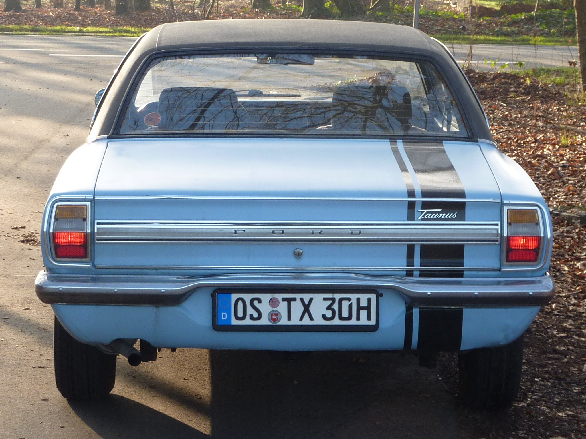 Auto Ford Taunus 2.0 V6