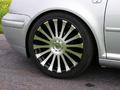 Felgen + Reifen - Neuer Felgenlook mit langen Speichen