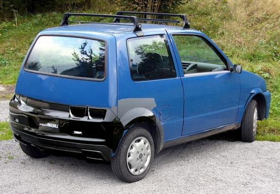 Name: Fiat_Cinquecento_Heckfake1.JPG Größe: 1499x1039 Dateigröße: 903022 Bytes