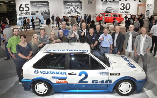 """Youngtimer + Oldtimer - Oldtimer-Saison 2015: """"Eventchecker"""" rollen für Volkswagen an den Start"""