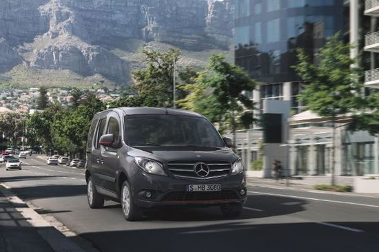 Auto - Mercedes Citan wird rasanter
