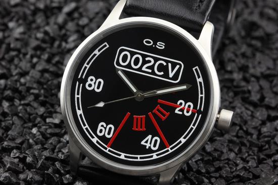 Lifestyle - Vive la 2CV! - Uhr im Design des 2CV Tachos