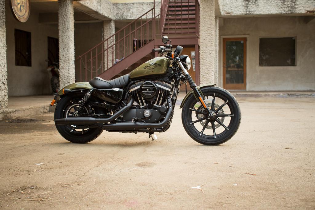 Harley Davidson Roadster Vs Iron