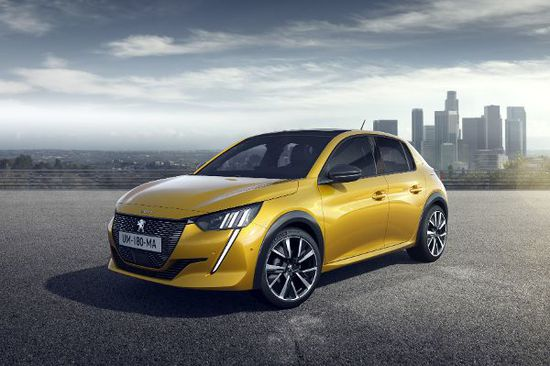 Erlkönige + Neuerscheinungen - Peugeot 208 und e-208 GT-Line in Starthocke