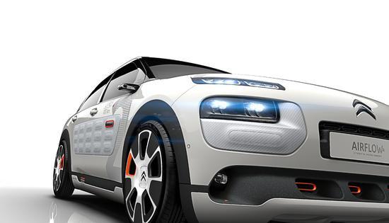 Auto - Citroen präsentiert den Concept C4 Cactus Airflow 2L in Paris