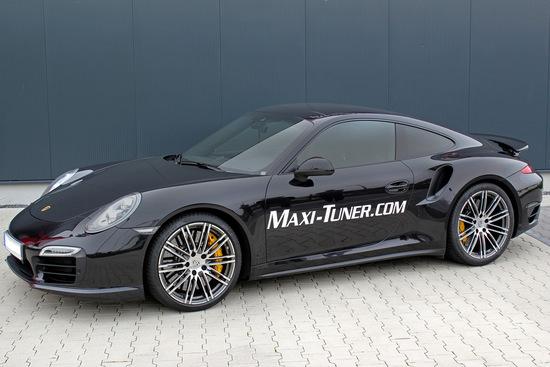 """Tuning - Maxi-Tuner: """"MaxPower""""-Upgrade für den Porsche 911 Turbo / Turbo S"""