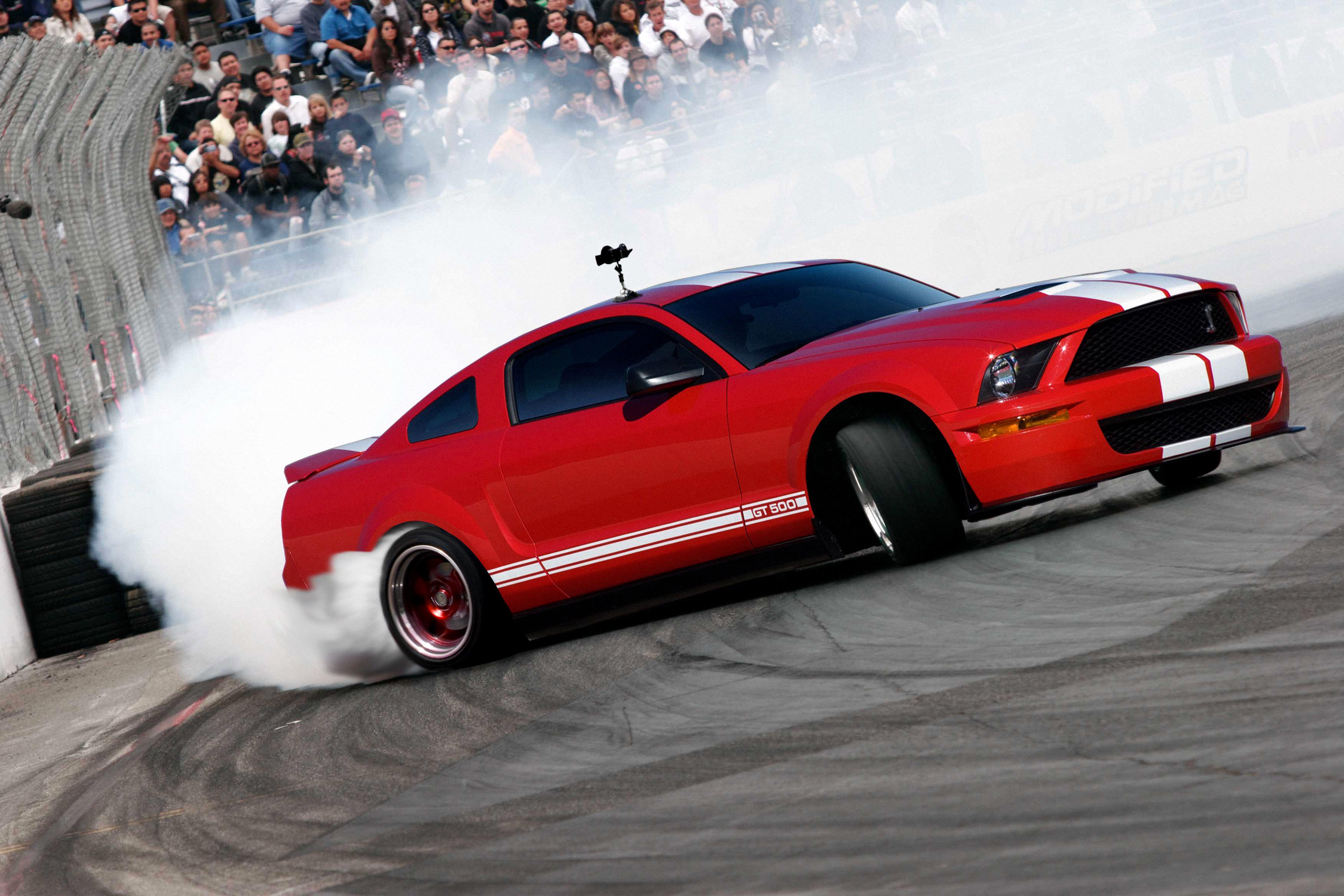 mustang drift car