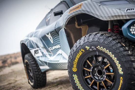 Felgen + Reifen - Continental präsentiert den CrossContact Extreme E