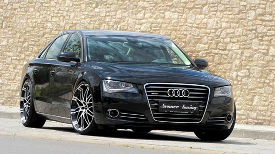 Luxus + Supersportwagen - Staatskarosse à la Senner Tuning  - Audi A8