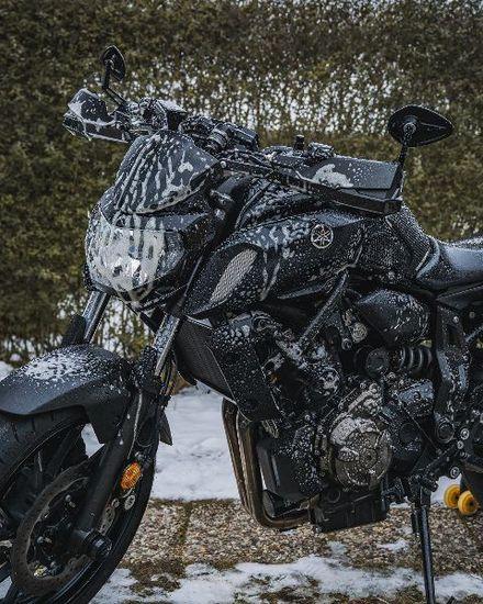 Motorrad - Schönheitskur für das Motorrad