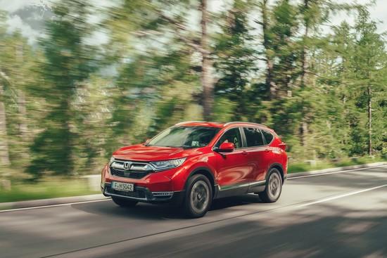 Elektro + Hybrid Antrieb - Honda CR-V kommt erstmals als Hybrid