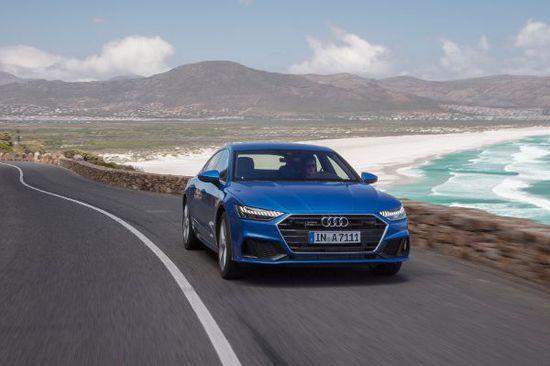 Erlkönige + Neuerscheinungen - [ Video ] Audi A7 Sportback: Die knopflose Fahrmaschine