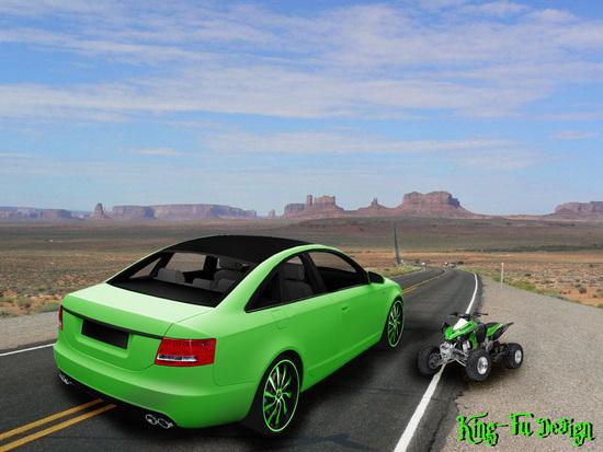 Name: Audi_A6_King-Fu_Design.jpg Größe: 1024x768 Dateigröße: 250015 Bytes