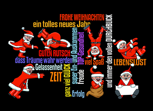 Lifestyle - Frohe Weihnachten und einen guten Rutsch ins neue Jahr