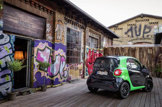 Elektro + Hybrid Antrieb - Smart Electric Drive surrt ab 21 490 Euro los