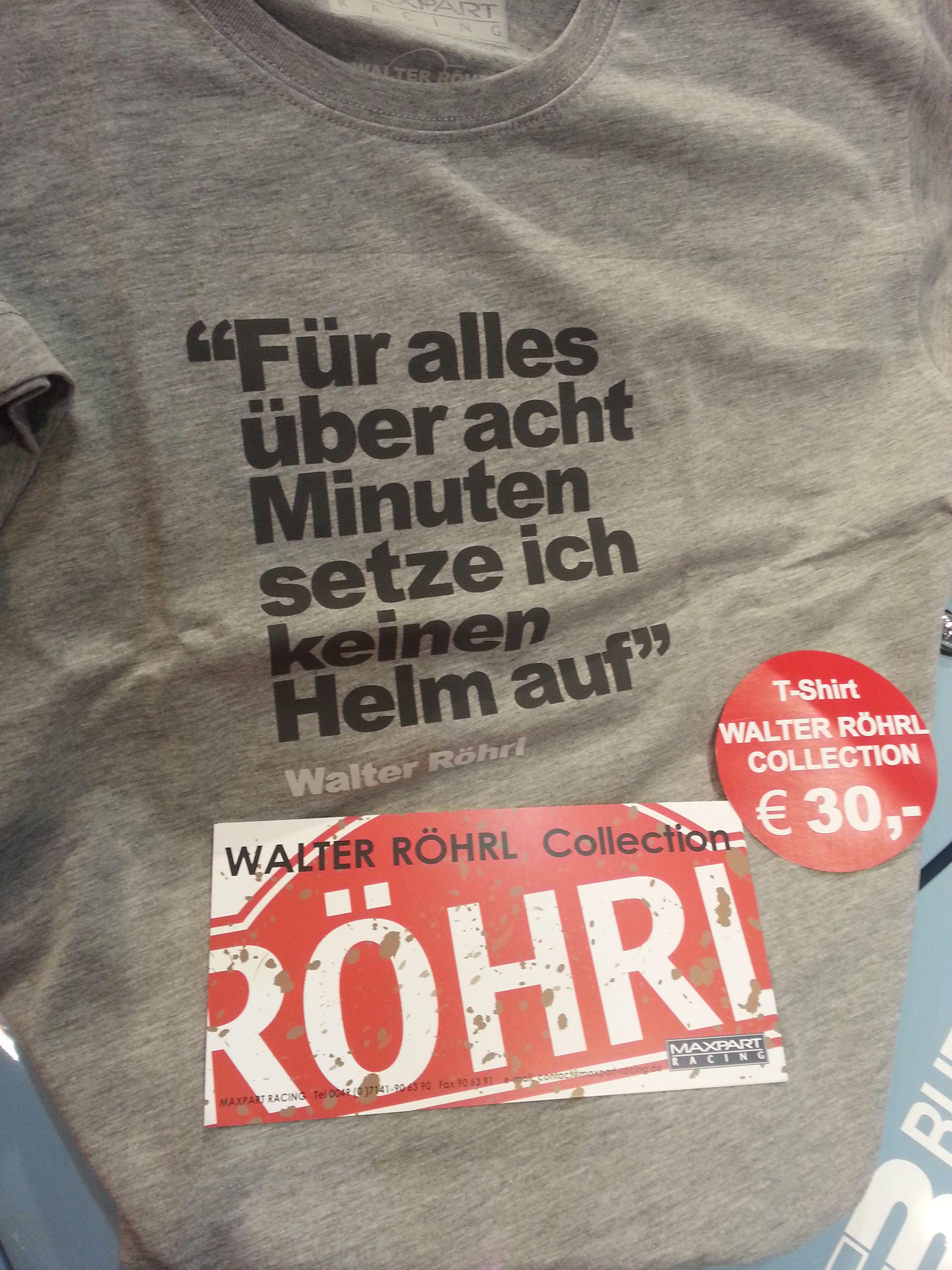 Feine T Shirts Von Walter Rohrl Pagenstecher De Deine Automeile
