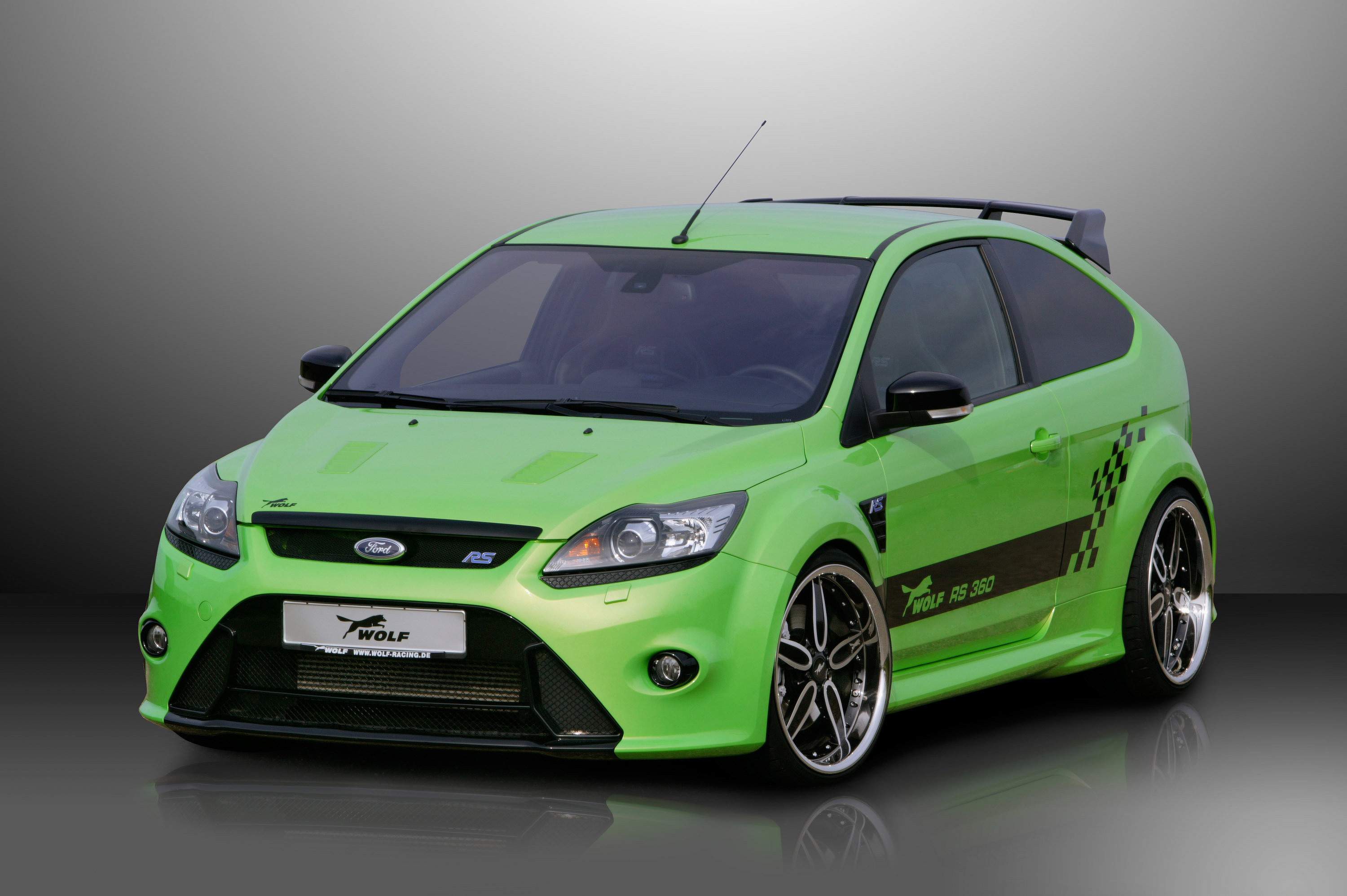wolf racing ford focus rs 01. Black Bedroom Furniture Sets. Home Design Ideas