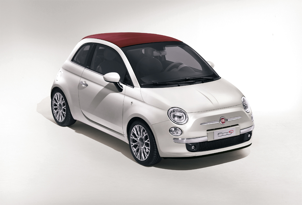 fiat 500c in limitierter opening edition. Black Bedroom Furniture Sets. Home Design Ideas