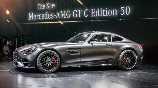 Erlkönige + Neuerscheinungen - [ Video ]  NAIAS 2017: Mercedes E-Klasse Coupe und AMG GT C Edition