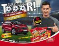 Gewinnspiel - Per Snack zum Kia Sportage: