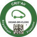 Auto - Crit'Air: Fahrverbote in Frankreich