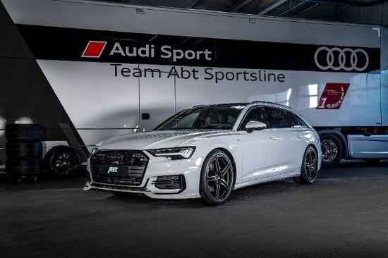 Luxus + Supersportwagen - A6 TDI von Abt: Da schmilzt der Gletscher