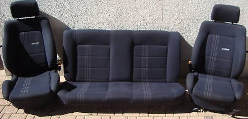 vw golf 2 gti edition one sitze deine. Black Bedroom Furniture Sets. Home Design Ideas