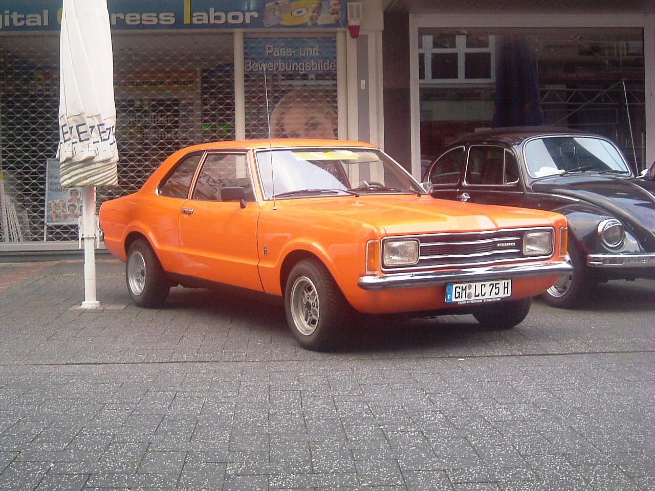 Auto Ford Taunus XL Knudsen