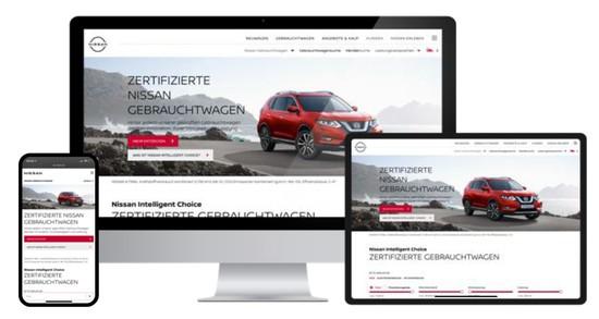 """Auto - Neue Gebrauchtwagenplattform """"Nissan Intelligent Choice"""""""