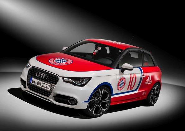 Audi Im Fc Bayern Look Zum Wörthersee Pagenstecherde
