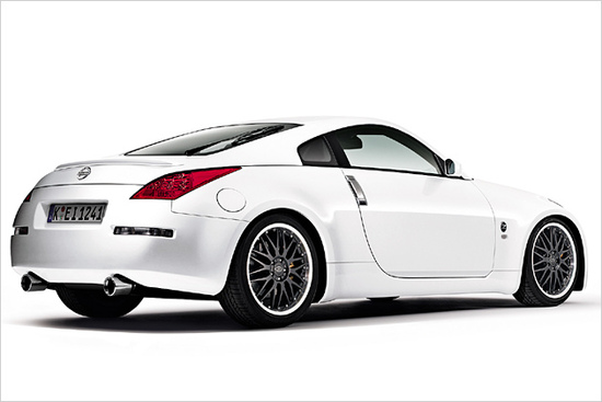 nissan 350z in neuer racing edition seite 1. Black Bedroom Furniture Sets. Home Design Ideas