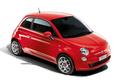 """Auto - Fiat 500 in Rennsportfarbe """"Rosso Corsa"""""""