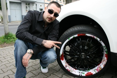 Auto Racing Wheels on Wheelz Art Von Barracuda Racing Wheels Zieht Auch Prominente Tuning