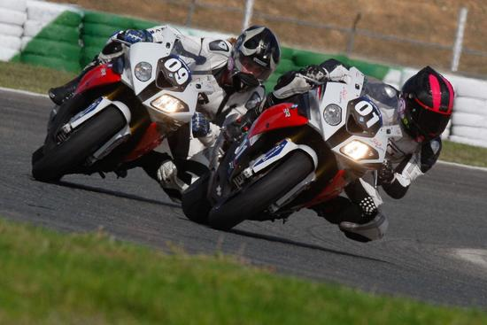 Motorrad - BMW schickt Motorrad-Ladies auf die Piste