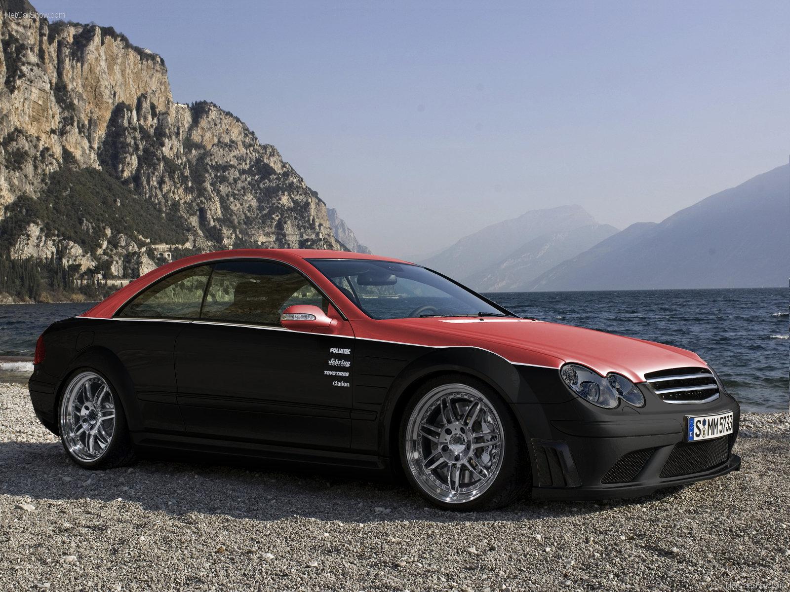 Mercedes Benz CLK63 AMG Black