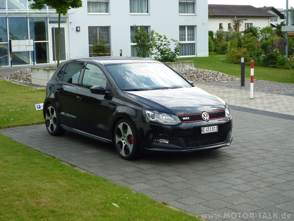 video fahrbericht vw polo gti 192ps 7 gang dsg. Black Bedroom Furniture Sets. Home Design Ideas
