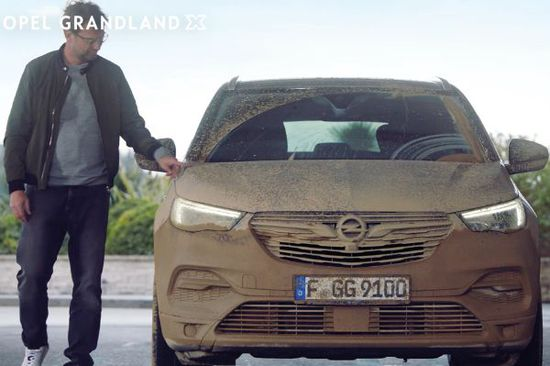 Auto - Opel-Werbung: