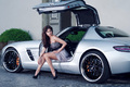 Girls + Cars - Inden Design Mercedes-Benz SLS AMG - Haute Couture meets Tuning