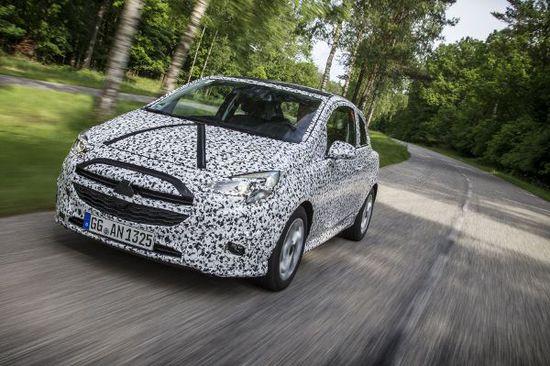 Erlkönige + Neuerscheinungen - Neuer Opel Corsa: Effizientes Leichtgewicht
