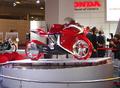 Motorrad - Futuristische Designstudie: Honda V4