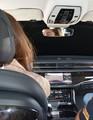 Auto - Automatisiertes Fahren im abgeklebten Auto