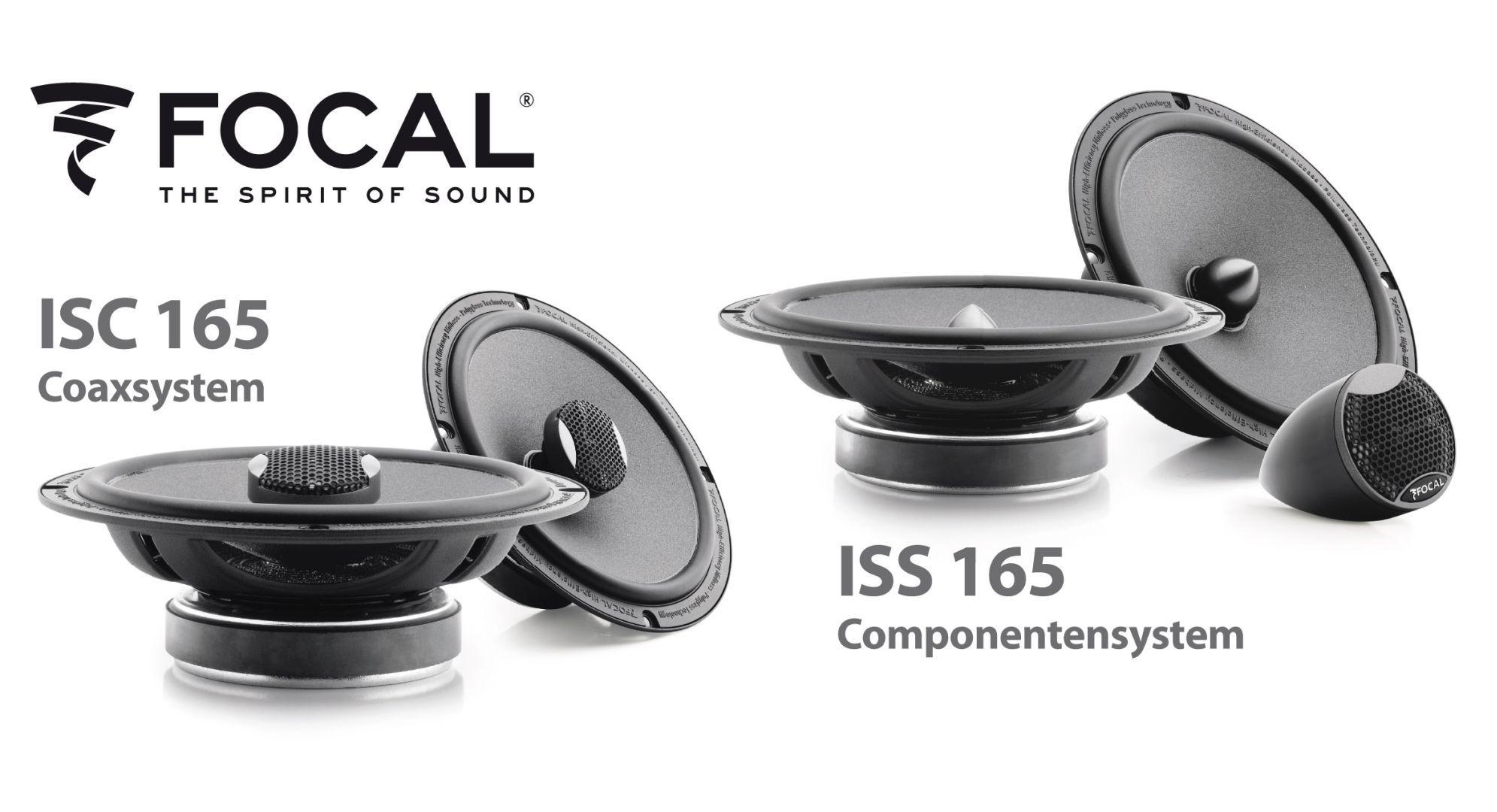 integration iss und isc neue compo und coaxsysteme von focal deine. Black Bedroom Furniture Sets. Home Design Ideas